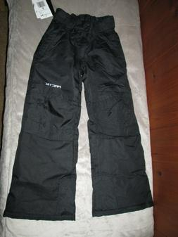 Arctix Youth Snow Pants with Reinforced Knees & Seat Black S